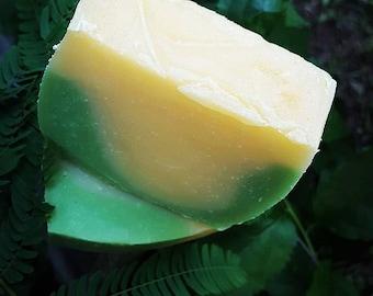 Organic homemade bar soap