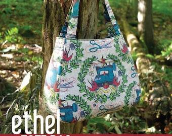 The Ethel tote - bespoke handmade handbag
