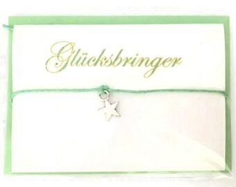 "Gift card ""Lucky charm"" bracelet"