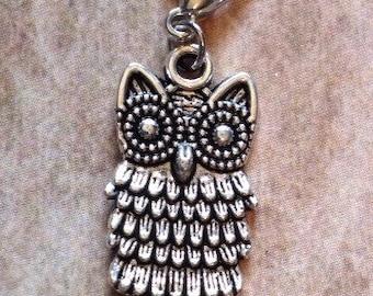 Cute owl charm dangle