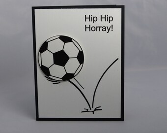 soccer birthday card  etsy, Birthday card
