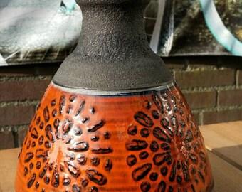 Bright ceramic vase Dumler & Breiden West Germany 1970s