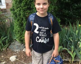 2nd Grade Shirt - School Shirt - Back to School - First Day of School - School Clothing - 1st Day of School - Second Grade - School -