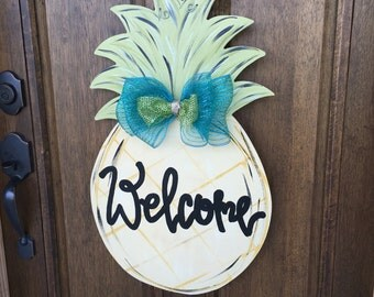 Pineapple Doorhanger