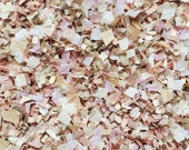 Blush Champagne Ivory Wedding Confetti Mix Pale Dusty Pink Biodegradable Decorations Bridal Baby Girl Shower Inside My Nest