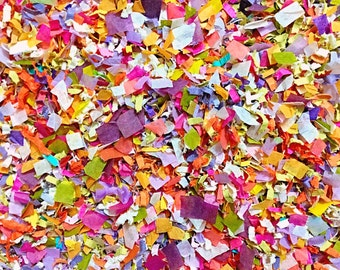 Sunflower Meadow Confetti Biodegradable Summer Floral Colourful Bright Colour Coordinated Matching Colour Scheme InsideMyNest (25 Guests)