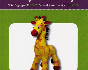 RAFF The GIRAFFE      BY: Funky Friends Factory  -  Soft Toys you'll love to make and love~ child/baby toy