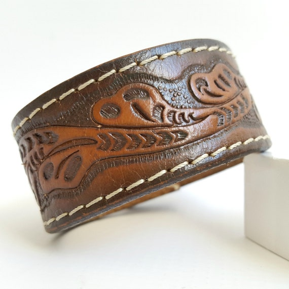 Items similar to sale beautiful hand tooled carved