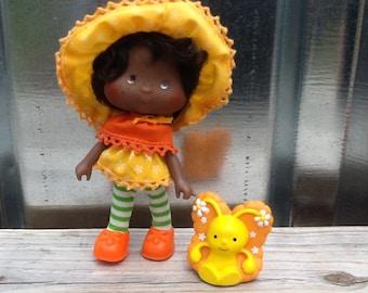 Orange Blossom w/Marmalade Vintage Strawberry Shortcake Doll