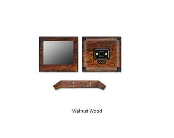 Fitbit Blaze Wrap DECAL Sticker Skin Kit Wood series by Stickerboy - Set 4