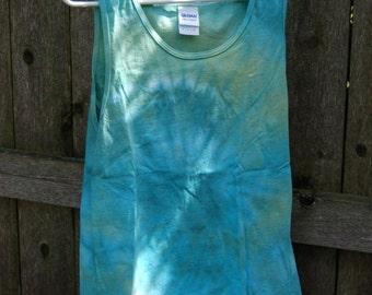 Ocean Blue Tie Dye Tank