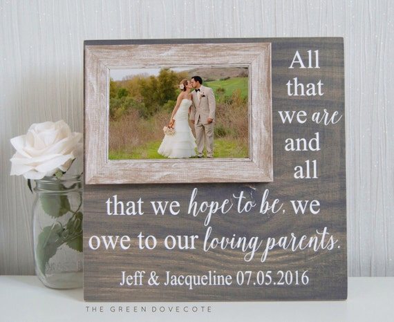 Thank You Gifts For Parents At Wedding: Thank You Gift For Parents Parents Thank You By