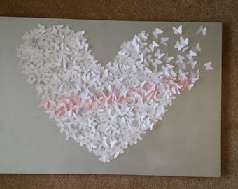 Large 3D Butterfly Wall Art