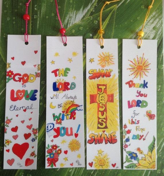 christian bookmarks