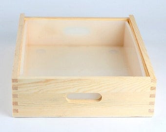 6KG Silicone Liner Mold With Wooden Box Loaf Soap Making Tools DIY Cake Bread Toast Molds  B0262