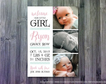 Welcome Baby Announcement | BA18
