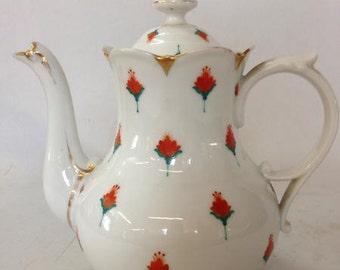 1900's Limoge coffee pot