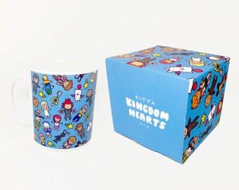 Kingdom Chibi Pattern ~ Kingdom Hearts ~ Mug and Box Set