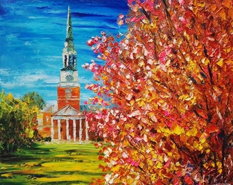 Fall, Wake Forest University -Pen King-A1146