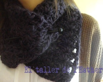 Neck very soft and warm wool