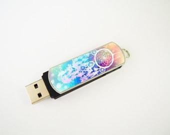 Dream Catcher USB Flash Drive 8GB, Personalized Flash Drive, Thumb Drive