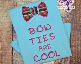 Bow Ties Are Cool Shirt