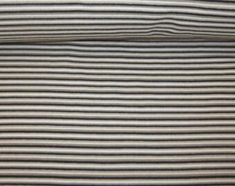 Striped rib Mulitcolor circumference 70 cm grey