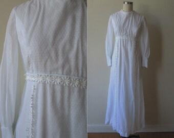 Swiss dot wedding dress etsy for Dotted swiss wedding dress