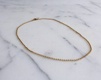 Dainty Gold Chain Necklace