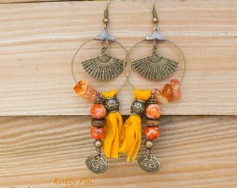 """Ethnic earrings ear """"Nandini"""""""