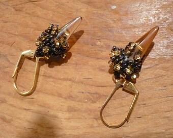 Smoky Sophisticated Earrings BB-20
