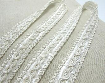 3 Yards 5/8 Inch Scalloped Edge Gimp Trim|Woven Trim|Decorative Embellishment|Cushion Pillowcase Home Decor|Costume Making|DIY Supplies