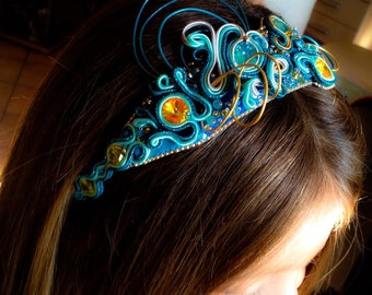 "headband ""princess"""