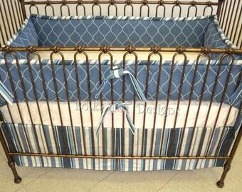 Blue Baby Boy Bedding: Graham