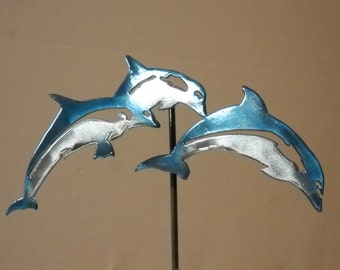 Dolphins on Stick