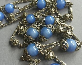 1920's Art Deco Flapper Beads Necklace