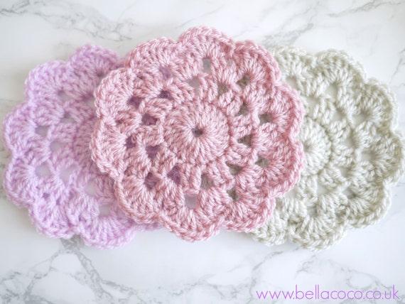 Items similar to Crochet Coaster Pattern on Etsy