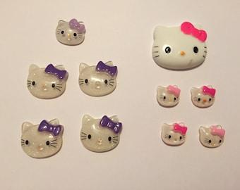 10 pc hello kitty deco set