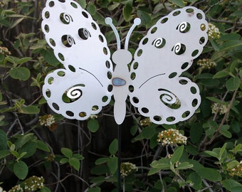 Large Metal Butterfly Yard Stake