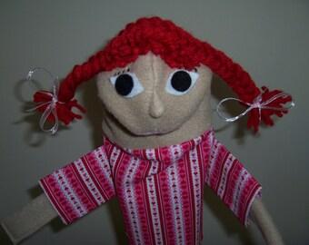 Girl puppet for 15 dollars