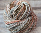 Hand Spun Hand Dyed Yarn - Worsted - Foxtrot
