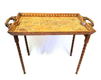Early 20th Century Moroccan Side Table