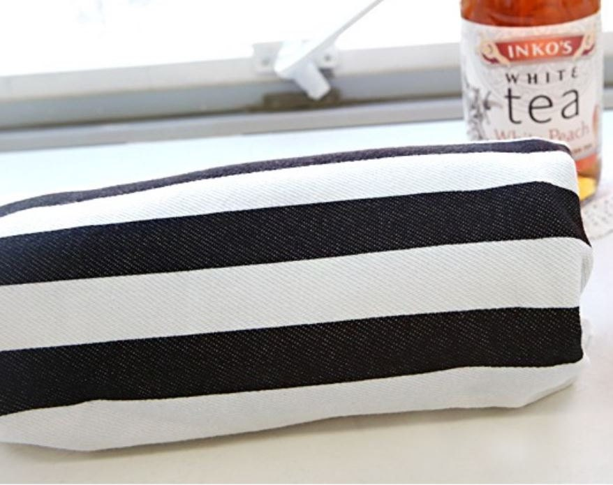 Striped Knit Fabric Black And White By The Yard By