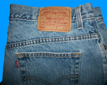 Levis 550 Relaxed   Size 20 W S