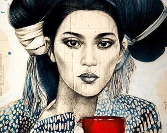 La tasse rouge