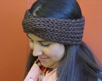 Twisted Turban Knit Headband