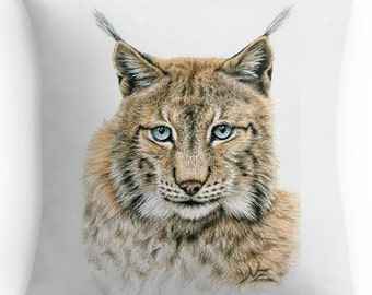Pillow cover 40 x 40 cm - Lynx