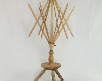 Umbrella Swift, Floor or Table Mount Skeinwinder from Strauch Fiber Equipment, Skein Winder, Table Mount Swift,  Skein Holder, Yarn Winder