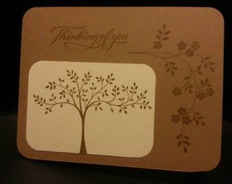 Thinking of You Tree Card