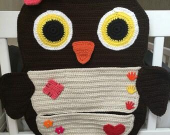 Owl Backseat Car Organizer